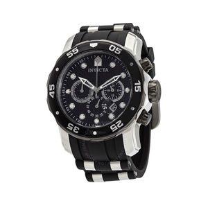 INVICTA Pro Diver Chronograph Black Watch 17879